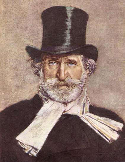 Giovanni Boldini - Portrait of Giuseppe Verdi