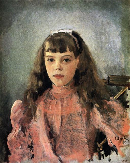 Valentin Serov - Portrait of Duchess Olga Alexandrovna