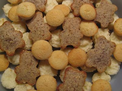 financiers et congolais - recettes indexées dans les Desserts