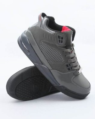 f5f518d12f Cheap online Cadillac Footwear Aero Charcoal red Hi Top Athletic ...