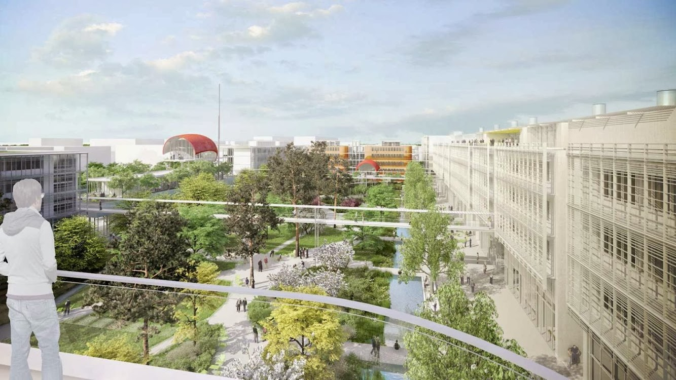 Ens cachan paris-saclay, Francia: Renzo Piano Wins the Ens Cachan Expansion Competition