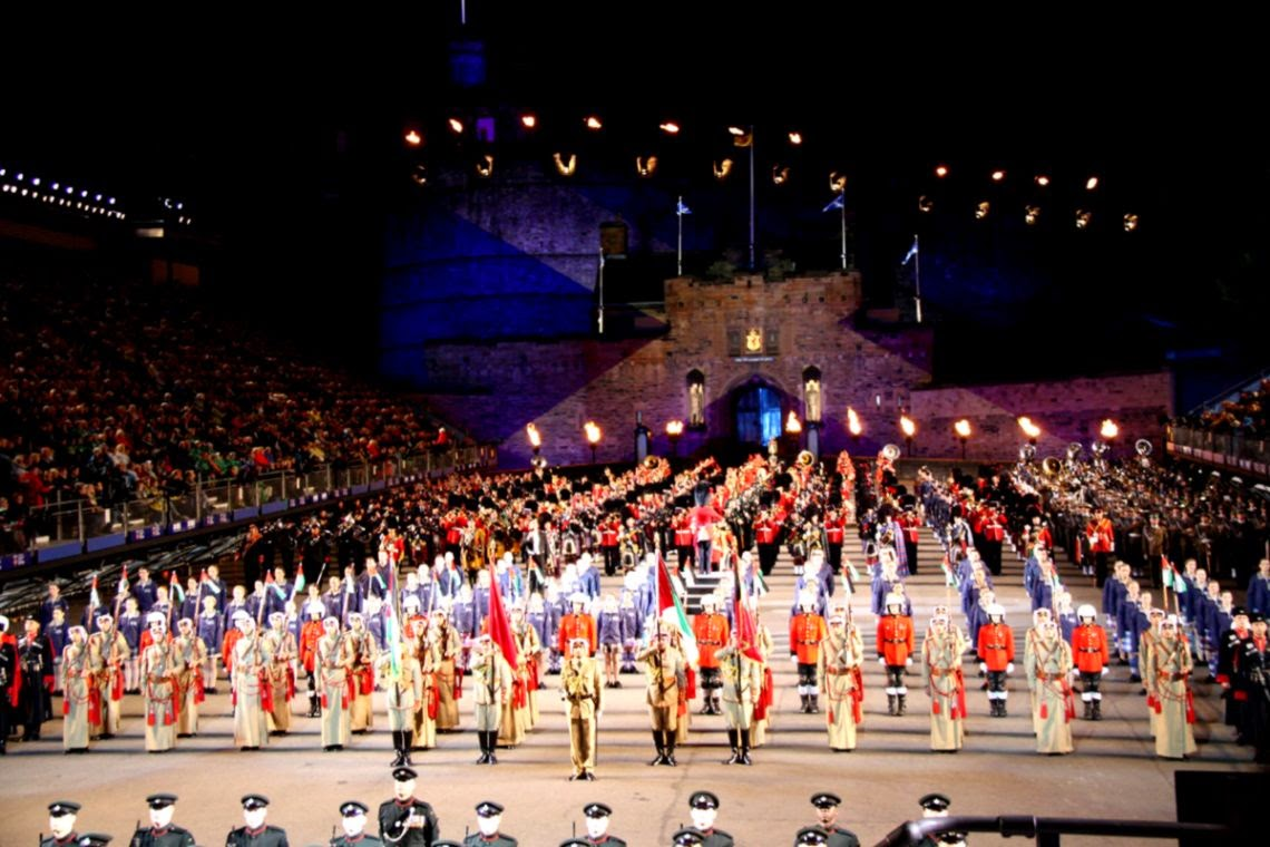 Tattoo Edinburgh and best of Scotland individual with private