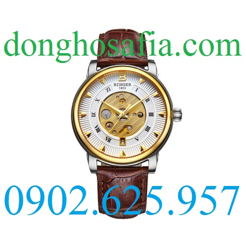 Đồng hồ nam cơ Binger B1105G