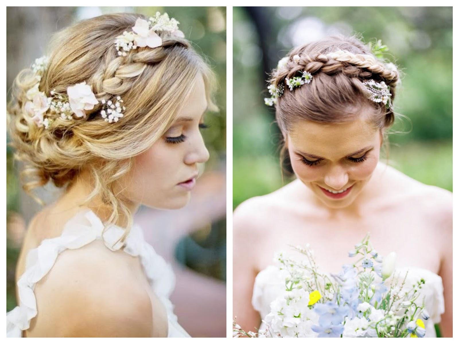Simple y con estilo peinados sencillos para boda Galería De Tutoriales De Color De Pelo - peinados de novia: Peinados Para Boda Con Flores Naturales