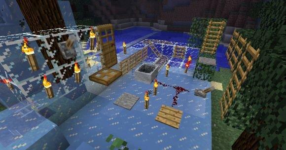 Icy Madness мод для Minecraft 1.8.1