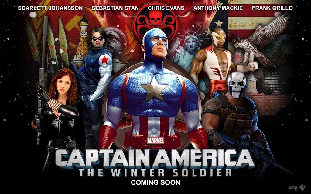 Ο Στρατιώτης Του Χειμώνα Captain America: The Winter Soldier Wallpaper