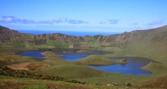 Caldeirão - Ilha do Corvo