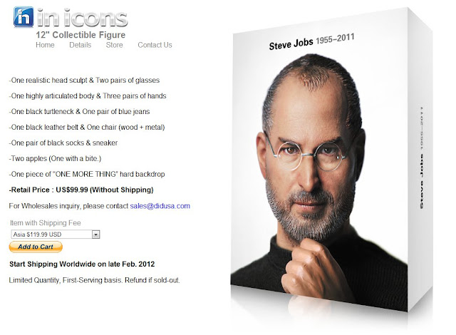 in icons Steve Jobs
