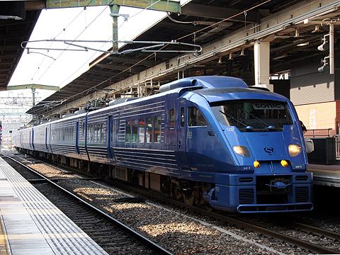 JR九州 883系「ソニック」 博多駅にて