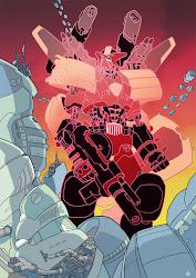 Mo-Bot Judge Dredd, as originally appeared on my blog, here: http://neillcameron.blogspot.com/2011/12/giant-robot-judge-dredd.html)