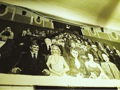 celebrity mural, painting