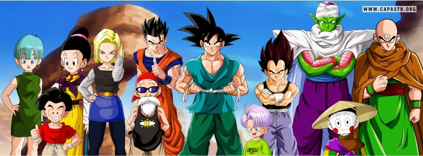 Capas para Facebook Dragon Ball Z