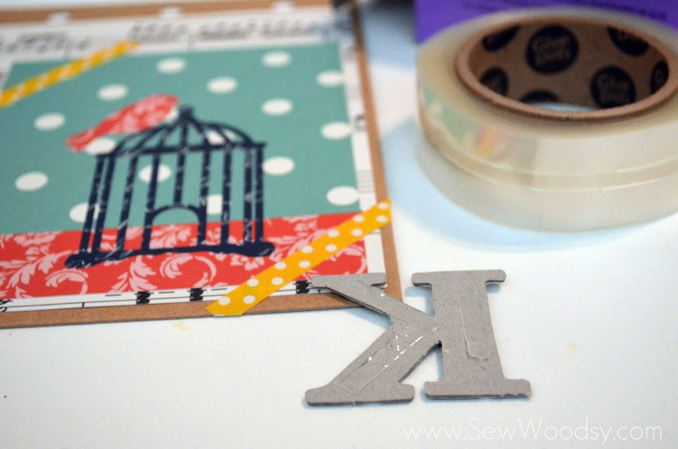 Personalized Vintage Notebook from SewWoodsy