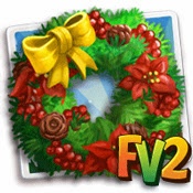 farmville 2 cheat for flower wreath  farmville 2 holiday lights forth week