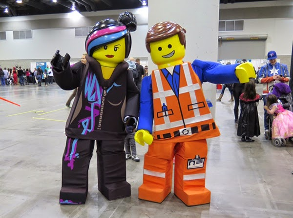 Wyldstyle and Emmet from Lego Movie