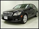 11 BENZ C300 LUXURY PACKAGE SUNROOF REAR SUNSHADE WOODTRIM AUX ALLOYS WE FINANCE