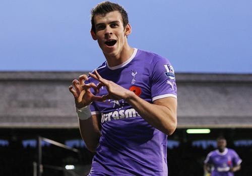 Gareth Bale, Fulham - Tottenham Hotspur