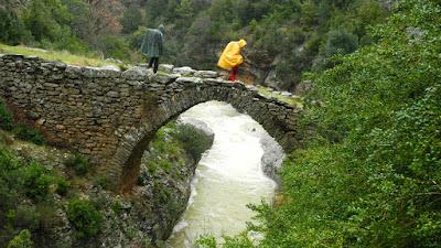 puente de las Cabras, Fenales, Rodellar