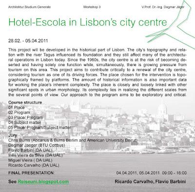 EAD | ASG 2011-03-02 WS3 Lisbon | Main Task