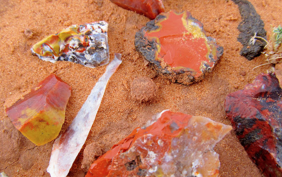 Colorful chert that was everywhere title=