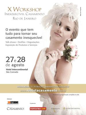 Workshop IC 2011 post X Workshop Inesquecível Casamento Rio de Janeiro
