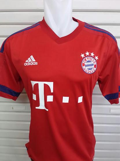 Jual Jersey Bola Bayern Munchen Home 2015-2016