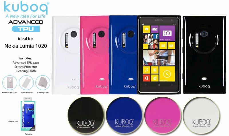 Kuboq Case Advanced TPU Lumia 1020
