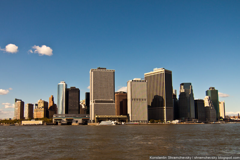 USA New York Manhattan Downtown Battery Park США Нью Йорк Даунтаун Баттери Парк