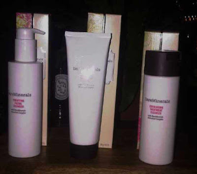 bare minerals cleansers