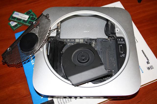 Mac mini без винчестера