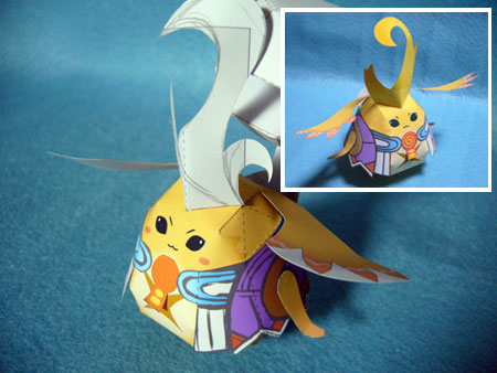 Xenoblade Chronicles Papercraft Riki