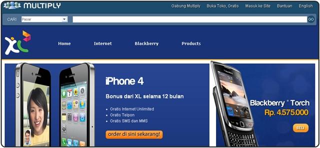 Toko Online XL Axiata