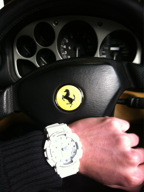 Custom Pinoy Rides Gear for Gearheads Casio G-Shocks Ferrari