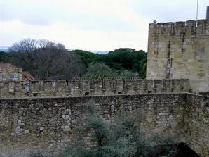 Португалия - старая крепость Святого Георгия