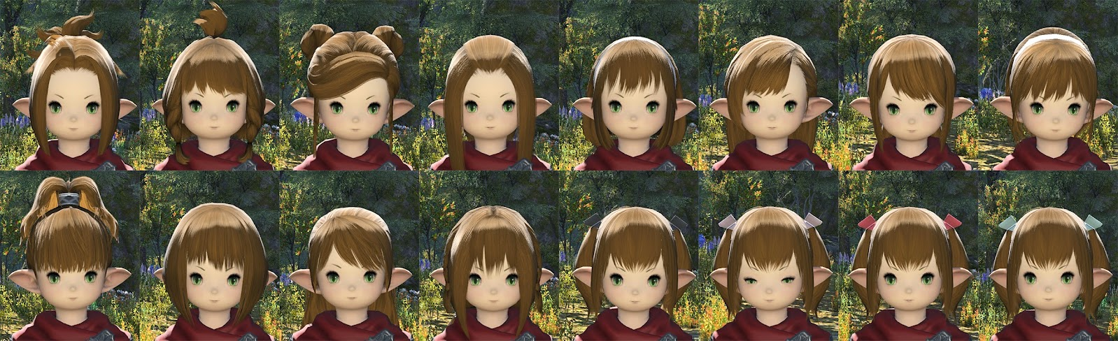 Lalafell Female Hair