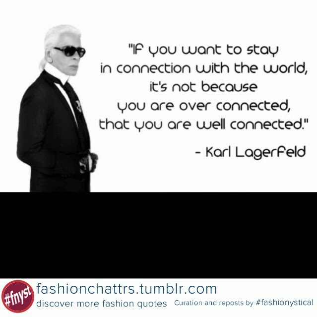 Famous Fashion Designer Quotes Quotesgram