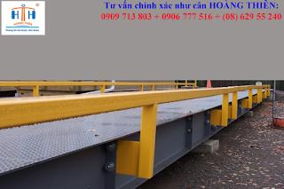 Cân xe tải 18 m cân ô tô 18 mét 100 tấn