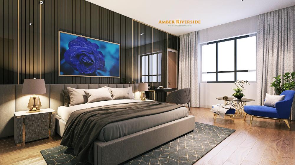 Phòng ngủ dự án 622 Minh Khai