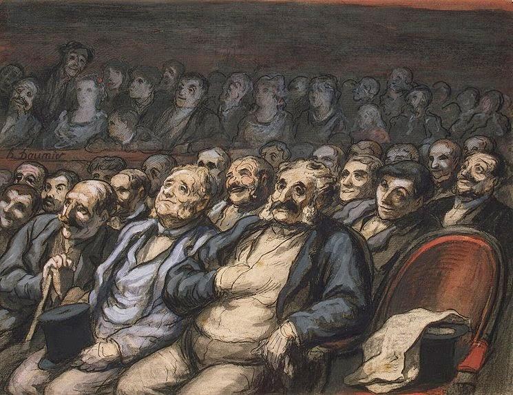 Honoré Daumier - Orchestra Seat