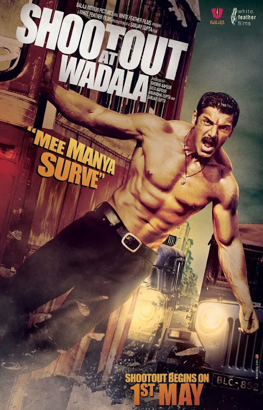 Cover of Shootout at Wadala (2013) Full Hindi Movie Video Songs Free Download Watch Online at Alldownloads4u.Com