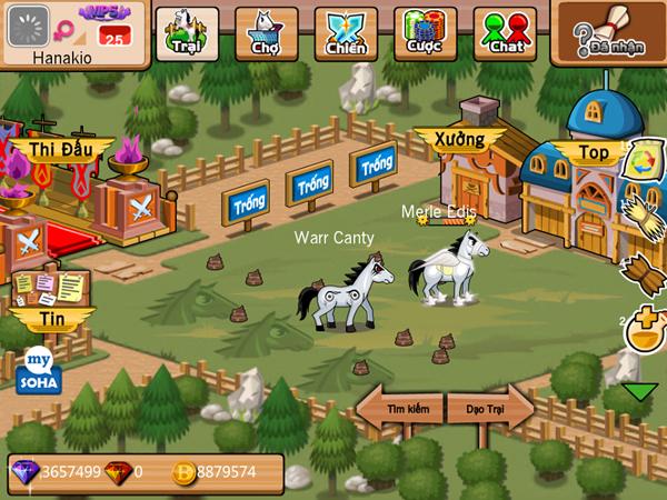 Soha Game trình làng trang giới thiệu Khoái Mã