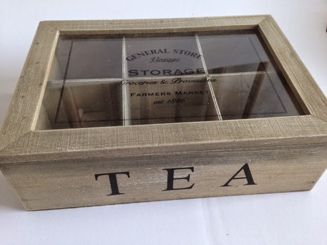 Tea storage box