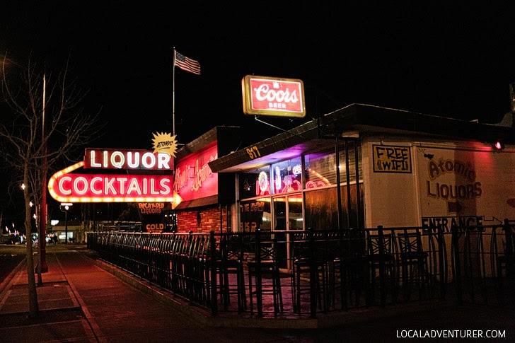 Atomic Liquors (Best Bars in Las Vegas with Cycle Pub Vegas).