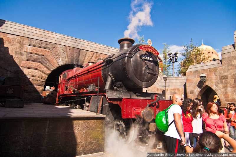 USA Florida Orlando Universal Studios The Wizarding World of Harry Potter Theme Park США Флорида Орландо Юнивёрсал Студиос Волшебный Мир Гарри Поттера Парк Аттракционов