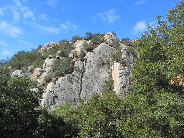 possible climbing rocks