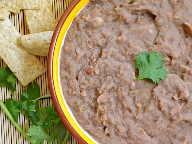 not refried beans