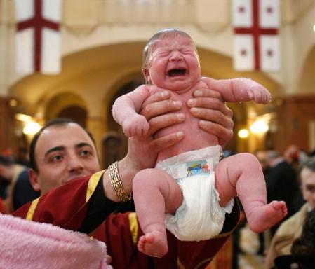 Bērnu kristīšana