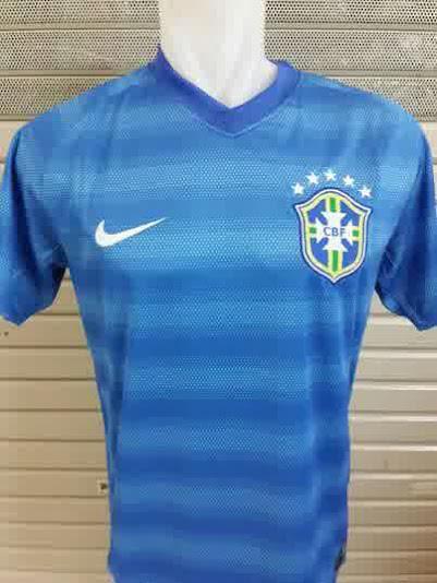 Jual Jersey Brazil Away Piala Dunia 2014