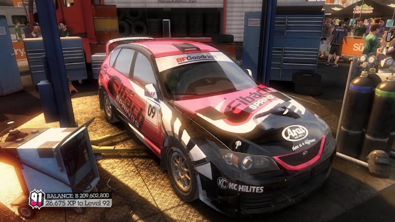 รายการรถกลุ่ม Rally ใน DiRT2 Sti-05