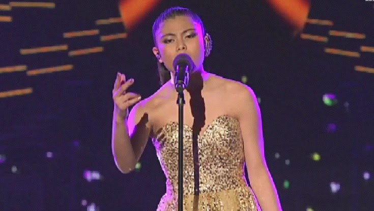 Marlisa Punzalan sing Let It Go on The X Factor Australia